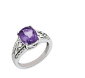 Womens Amethyst Rings